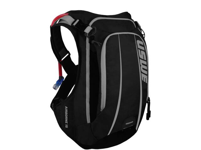USWE Airborne 15 Backpack, black/grey